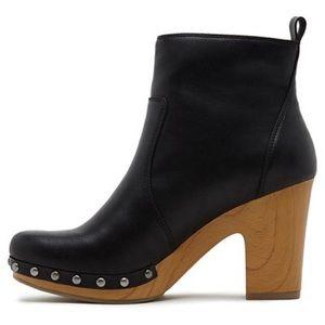 Revel Kacy Faux Wood Heel Boot